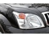 Накладки на фары Toyota Prado 120 ABS пластик